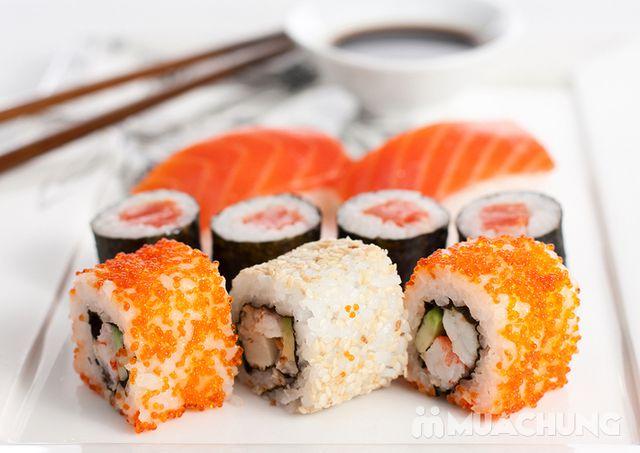 Buffet lẩu hải hải bò Mỹ & sushi Nhà hàng Moon BBQ - 21