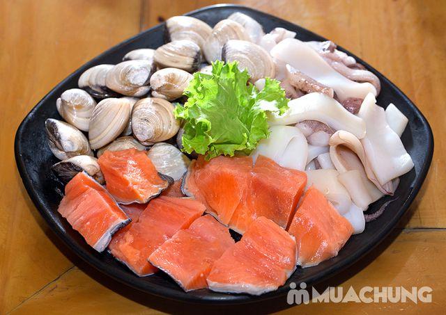 Buffet lẩu hải hải bò Mỹ & sushi Nhà hàng Moon BBQ - 16