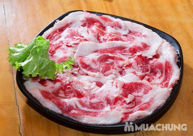 Buffet lẩu hải hải bò Mỹ & sushi Nhà hàng Moon BBQ - 15