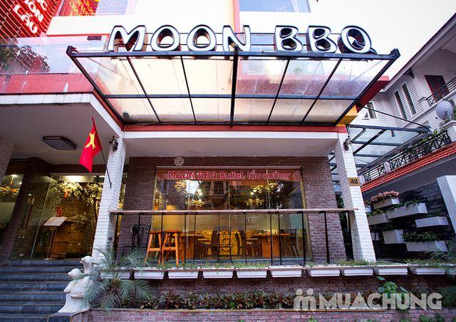 Buffet lẩu hải hải bò Mỹ & sushi Nhà hàng Moon BBQ - 28