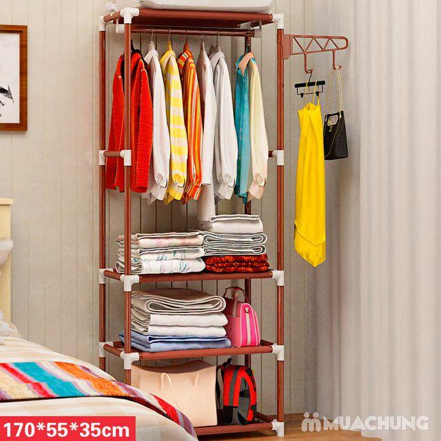 Tủ treo quần áo 4 tầng - 2