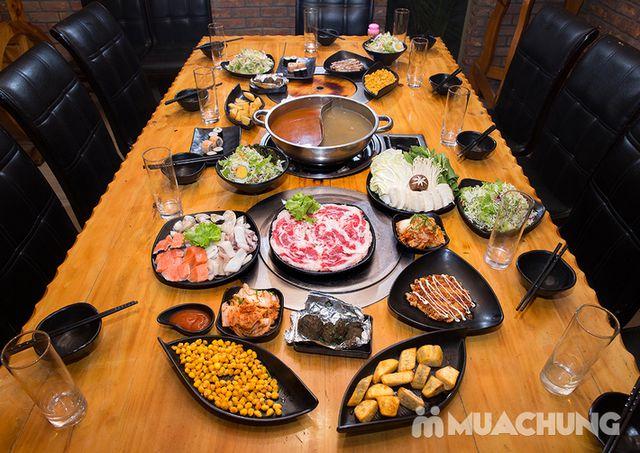 Buffet lẩu hải hải bò Mỹ & sushi Nhà hàng Moon BBQ - 14