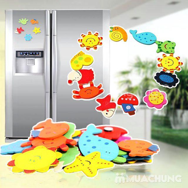 24 miếng dán tủ lạnh sinh vật biển ngộ nghĩnh - 1
