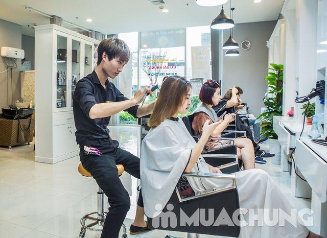 Cắt + Gội + Hấp tóc phục hồi công nghệ Ozon - 3