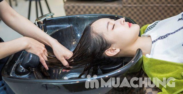 Cắt + Gội + Hấp tóc phục hồi công nghệ Ozon - 4