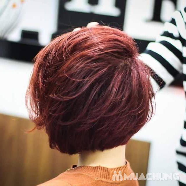 Nhuộm tóc đẹp, miễn phí cắt tạo kiểu+ tặng 01 hấp - 8