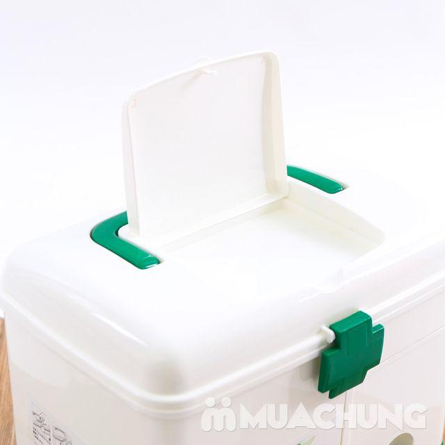 Tủ thuốc gia đình size lớn, nhiều ngăn tiện ích - 4