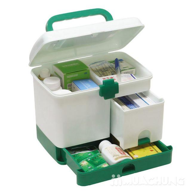 Tủ thuốc gia đình size lớn, nhiều ngăn tiện ích - 1