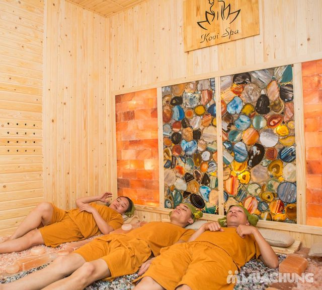 Xông hơi đá quý, massage bài độc tại Kovi Spa - 14