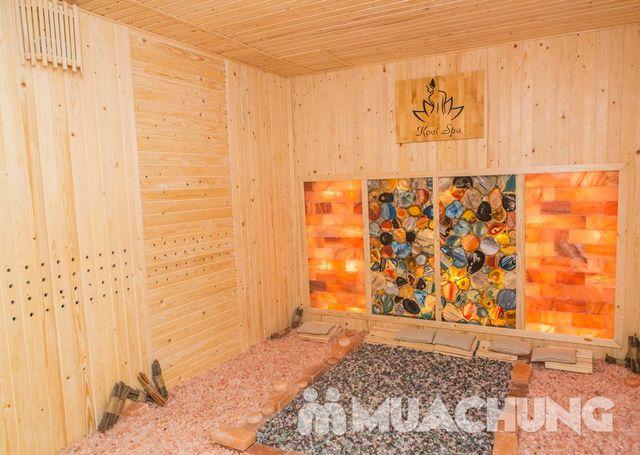 Xông hơi đá quý, massage bài độc tại Kovi Spa - 13