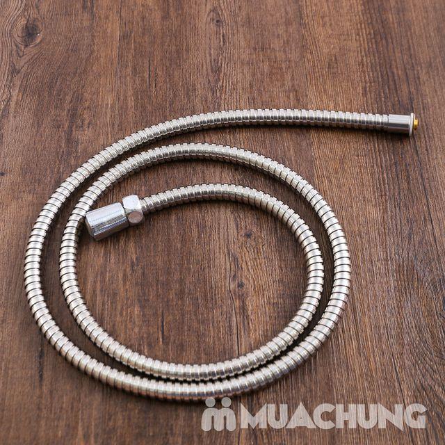 Bộ vòi sen tăng áp có hạt lọc kèm dây dãn 1.5m - 10
