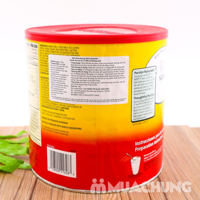 Sữa bột Nestle Nido Kinder 2.2kg cho trẻ > 1 tuổi - 4