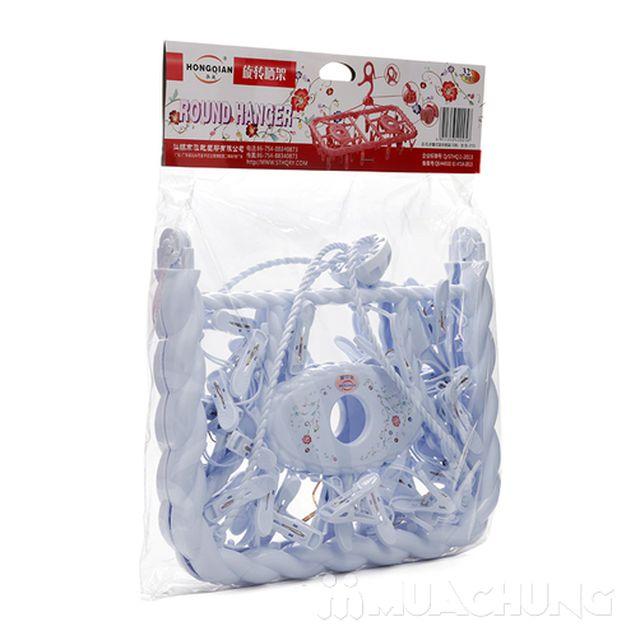Móc chùm 32 kẹp nhựa cao cấp - 12
