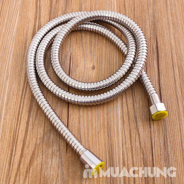 Vòi sen tăng áp lực nước loại to kèm dây - 8