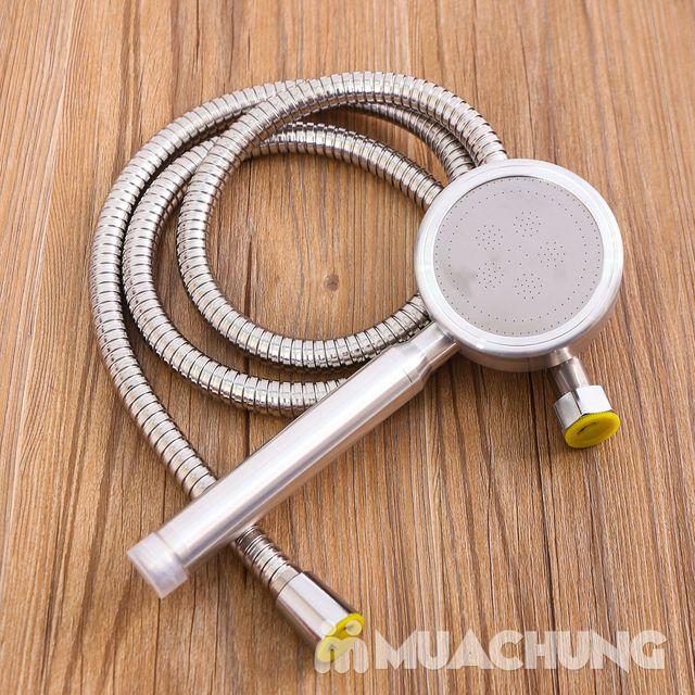 Vòi sen tăng áp lực nước loại to kèm dây - 6