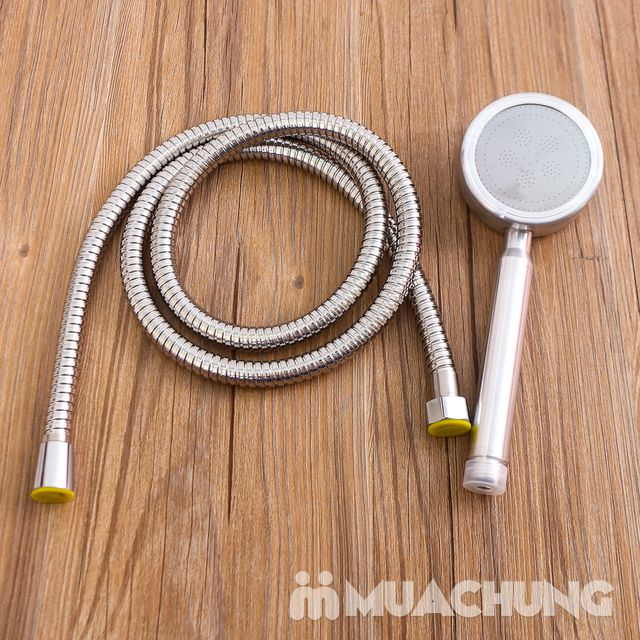 Vòi sen tăng áp lực nước loại to kèm dây - 5