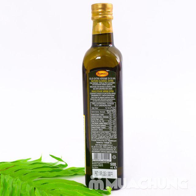 Dầu Olive Romoli nguyên chất NK Ý loại 500ml - 4