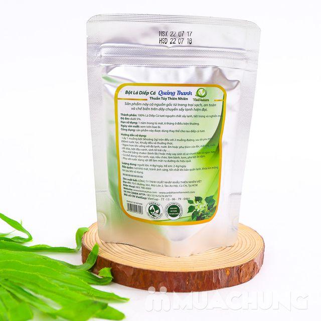 Bột diếp cá Quảng Thanh 100% nguyên chất (100g) - 4