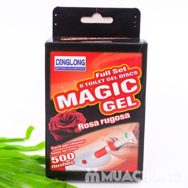 COmbo 2 hộp Gel thơm tẩy bồn cầu Magic Gel - 4