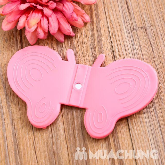 Combo 4 chiếc bắc nồi silicone hình bướm - 1