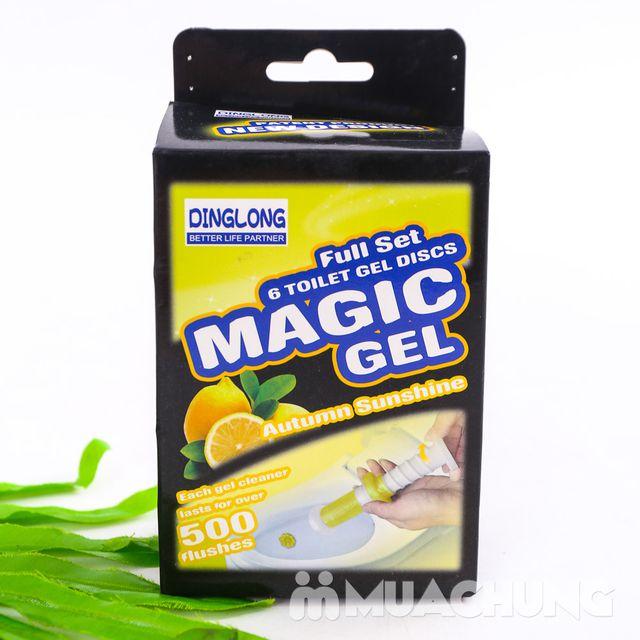 COmbo 2 hộp Gel thơm tẩy bồn cầu Magic Gel - 5
