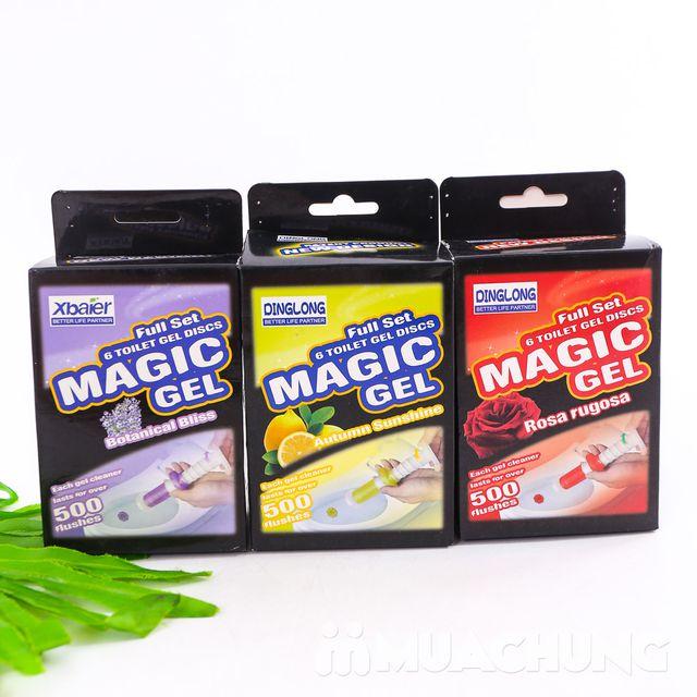 COmbo 2 hộp Gel thơm tẩy bồn cầu Magic Gel - 1