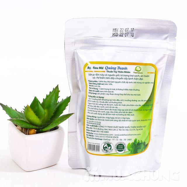 Bột Rau má Quảng Thanh 100% nguyên chất gói 100g - 1