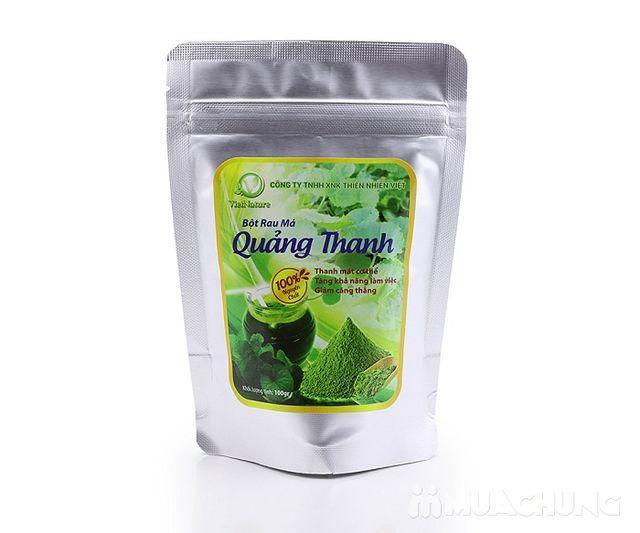 Bột Rau má Quảng Thanh 100% nguyên chất gói 100g - 3