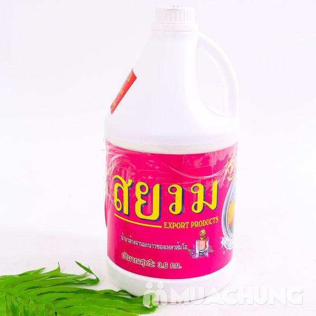 Nước giặt xả 5 trong 1 hương hoa - Tặng nước xả - 5