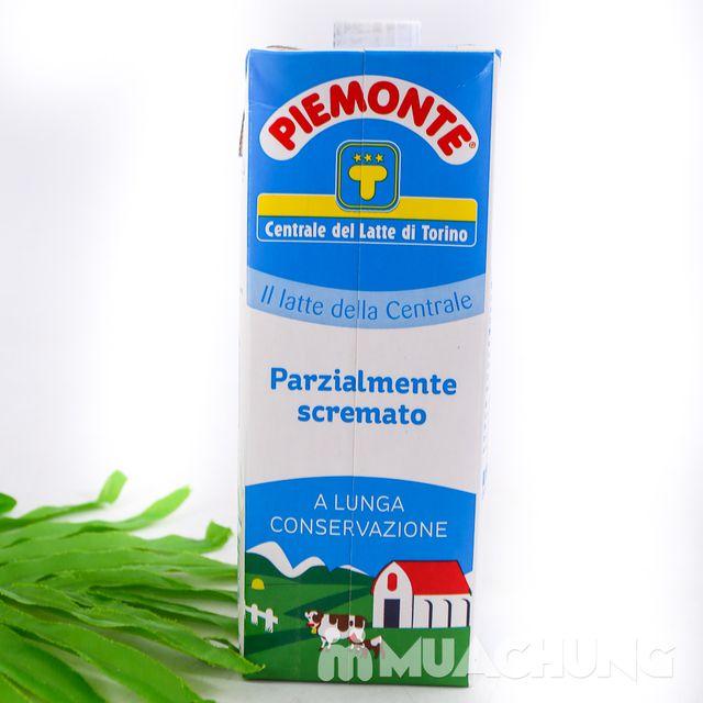 Combo 06 hộp sữa tươi ít béo PIEMONTE 1L - NK Ý - 9