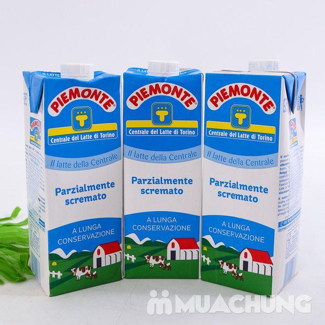 Combo 06 hộp sữa tươi ít béo PIEMONTE 1L - NK Ý - 15
