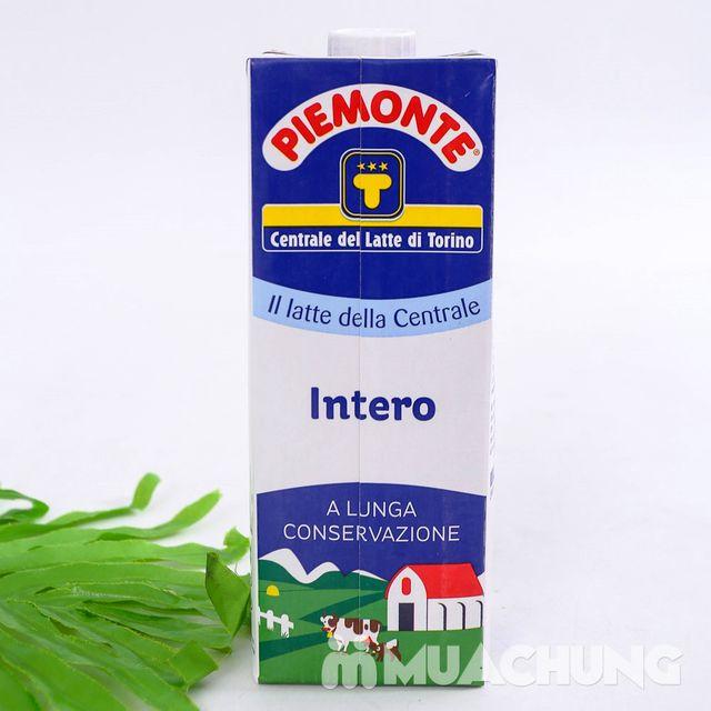 6 hộp sữa nguyên kem Piemonte nhập khẩu Ý loại 1L - 1