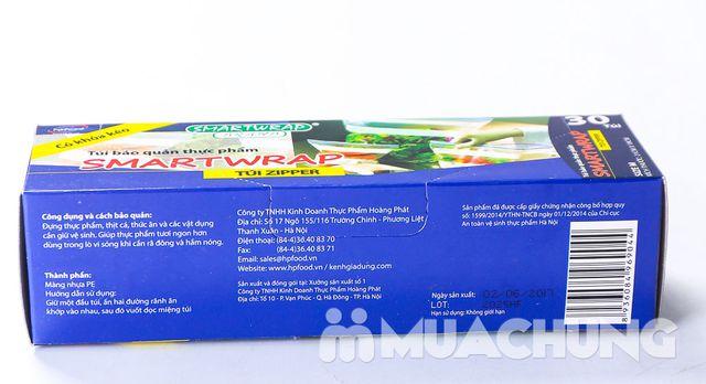 Combo 3 hộp túi zip đựng thực phẩm (3 kích thước) - 14