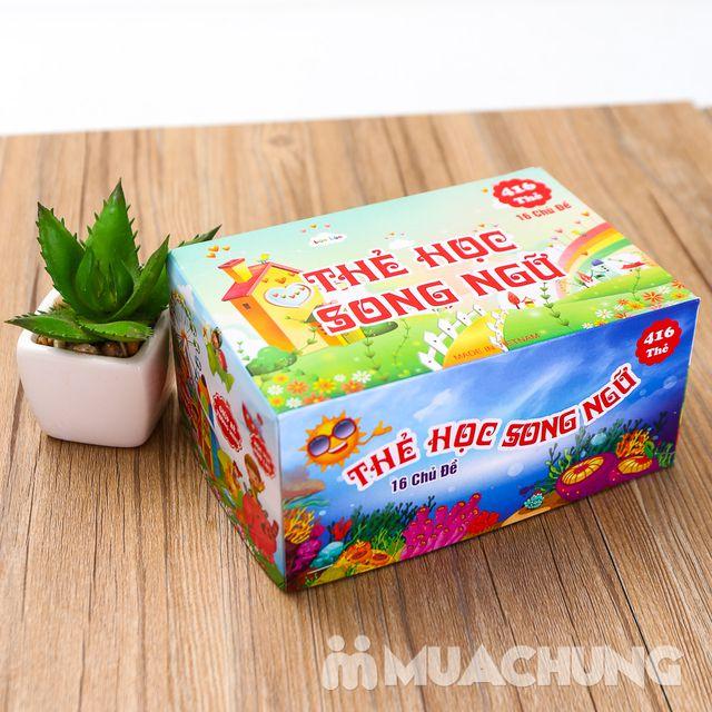 Bộ thẻ học song ngữ Anh- Việt 16 chủ đề và 416 thẻ - 5