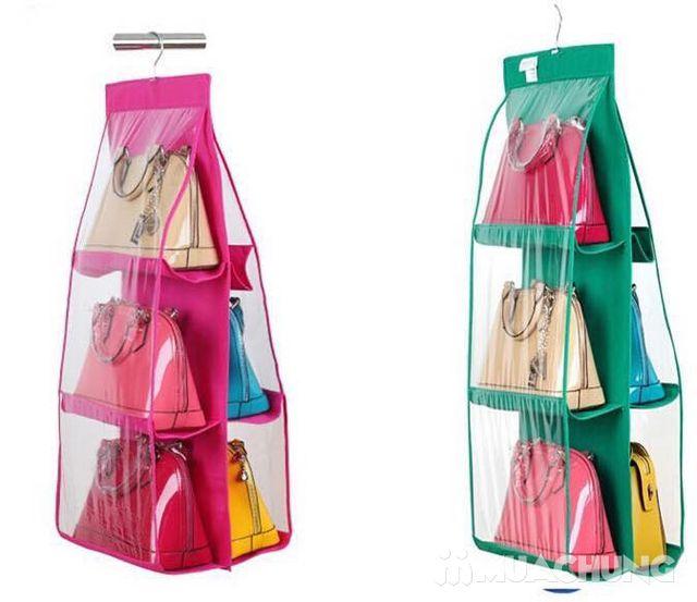 Túi treo bảo vệ túi xách 5 ngăn tiện dụng - 6
