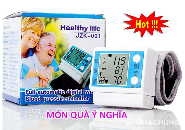 Máy đo huyết áp cổ tay JZK - 001 - 2