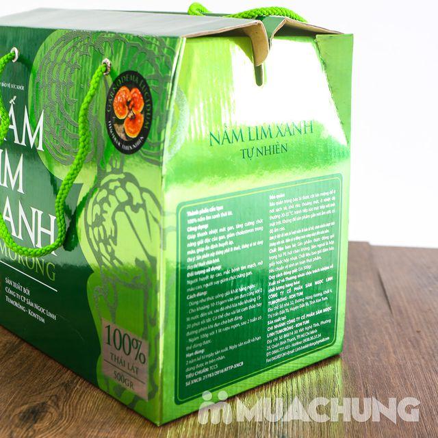 Hộp 500gr nấm lim xanh 100% thái lát tự nhiên - 9