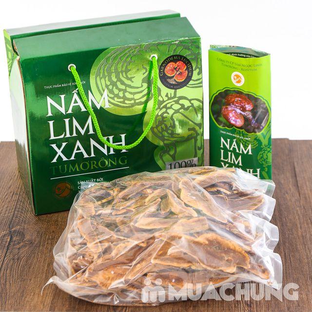 Hộp 500gr nấm lim xanh 100% thái lát tự nhiên - 1