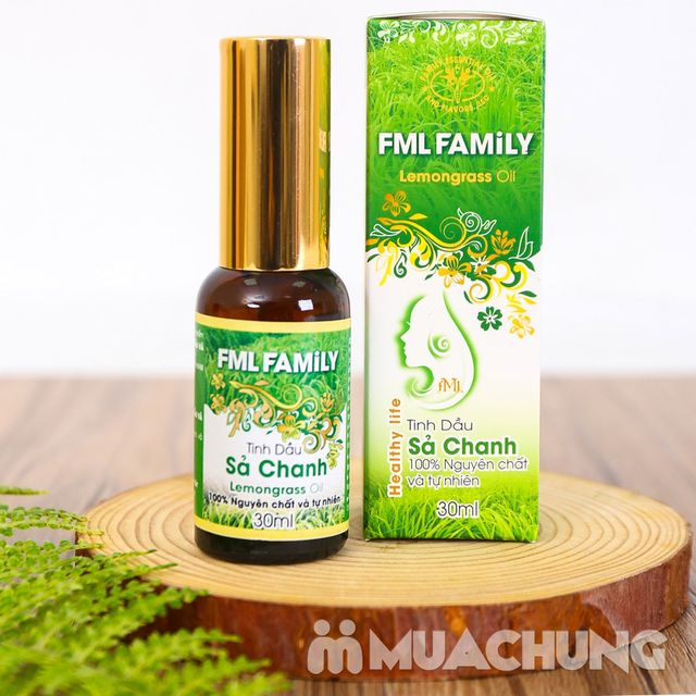 Tinh dầu sả chanh chống muỗi - 100% nguyên chất - 9