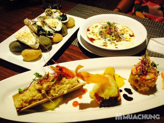 Set ăn hải sản phong cách Âu + đồ uống đẳng cấp 4* Nhà hàng Authentic Panorama  - 6