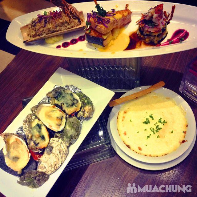 Set ăn hải sản phong cách Âu + đồ uống đẳng cấp 4* Nhà hàng Authentic Panorama  - 5