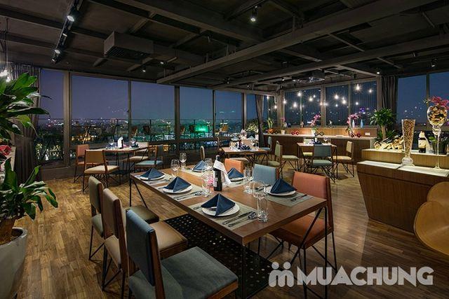 Set ăn hải sản phong cách Âu + đồ uống đẳng cấp 4* Nhà hàng Authentic Panorama  - 14