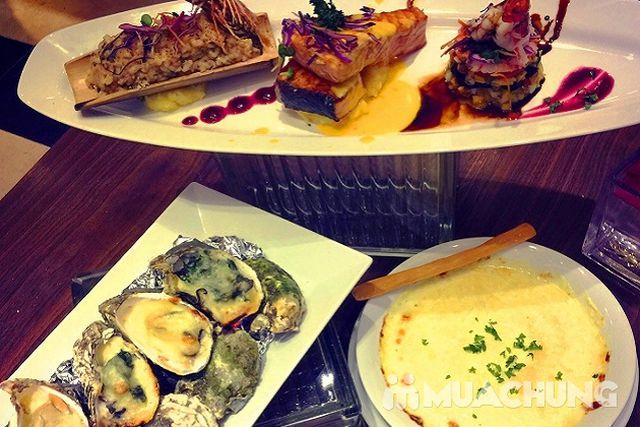 Set ăn hải sản phong cách Âu + đồ uống đẳng cấp 4* Nhà hàng Authentic Panorama  - 11