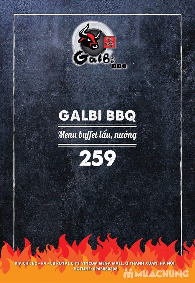 Buffet nướng lẩu ăn thả ga Galbi BBQ - Royal City - 6