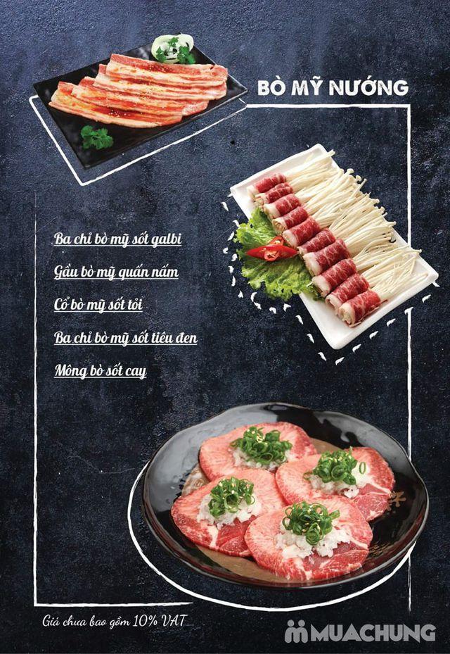 Buffet nướng lẩu ăn thả ga Galbi BBQ - Royal City - 1