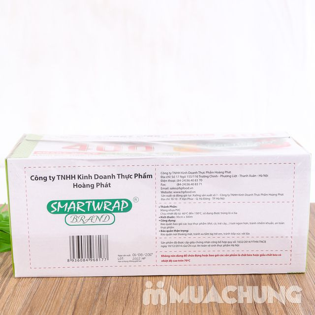 Màng bọc thực phẩm Smart Wrap 30cm x 300m - 8