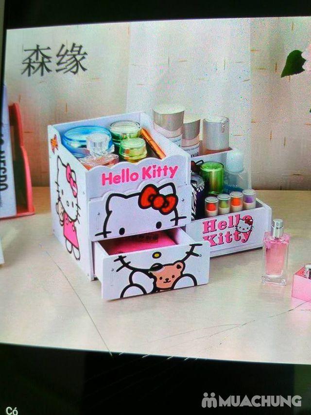Kệ đựng mỹ phẩm 2 tầng Kitty - 2