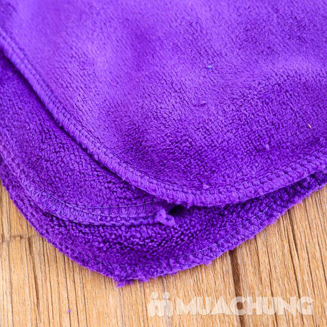 Combo 3 khăn lau siêu thấm + 2 bộ lót tay tiện ích - 7