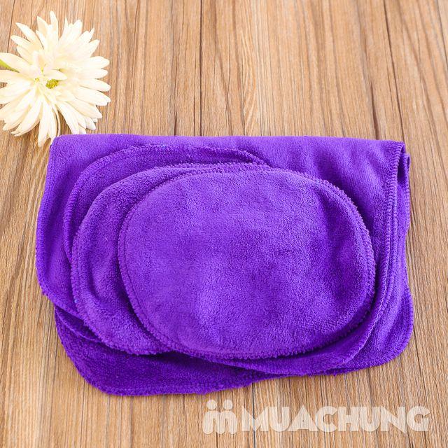 Combo 3 khăn lau siêu thấm + 2 bộ lót tay tiện ích - 10