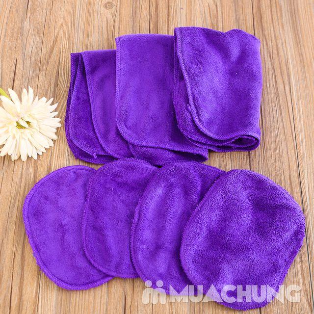 Combo 3 khăn lau siêu thấm + 2 bộ lót tay tiện ích - 5